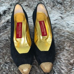 Vintage Andrea Pfister Coucture Heels